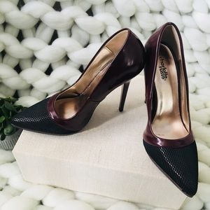 Charlotte Russe Burgundy Pumps